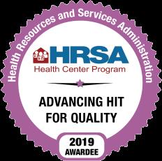 HRSA 2019 HIT Seal